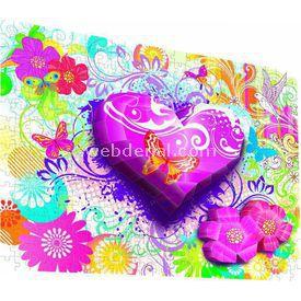 Mega Puzzles 250 Parça Breakthrough Kalpler Ve Çiçekler Puzzle