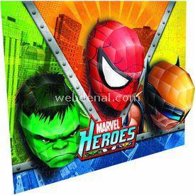 Mega Puzzles 110 Parça 3boyutlu Breakthrough Marvel Heroes Puzzle