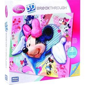 Mega Puzzles 250 Parça 3d  Breakthrough Minnie Mouse Puzzle