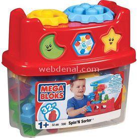 Mega Bloks Eğlenceli Renkli Bloklar Ve Kovası Oyun Seti Lego Oyuncakları