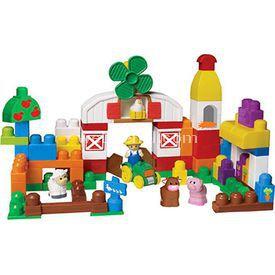 Mega Bloks Çiftlik Oyun Seti Lego Oyuncakları