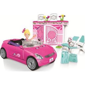 Mega Bloks Barbie Blok Araç Ve Garaj Seti Lego Oyuncakları