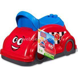 Mega Bloks whirl'n'twirl Ride On Kırmızı Yürüteç Oyuncak