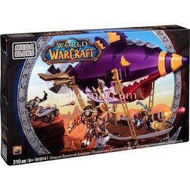 Mega Bloks World Of Warcraft Goblın Zeppelın Ambush Lego Oyuncakları