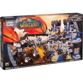 Mega Bloks World Of Warcraft Deathwing's Stormwind Lego Oyuncakları
