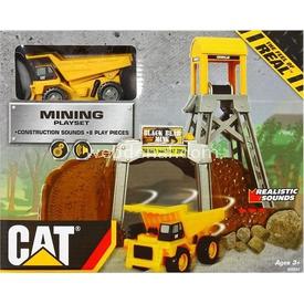 CAT Sesli Ve Hareketli Mini Inşaat Oyun Seti Erkek Çocuk Oyuncakları