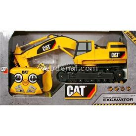 CAT Kablo Kumandalı Excavator Iş Makinesi Sesli - Işıklı Arabalar