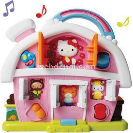Necotoys Hello Kitty Eğlenceli Çiftlik Oyun Seti Eğitici Oyuncaklar