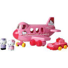 Necotoys Hello Kitty Jumbo Jet Oyun Seti Arabalar