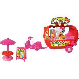 Necotoys Hello Kitty Kahve Arabası Oyun Seti Kız Çocuk Oyuncakları