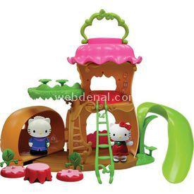 Necotoys Hello Kitty Çizme Evi Oyun Seti Kız Çocuk Oyuncakları