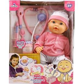 Vardem Ateşlenen Bebeğim 41 Cm Bebekler