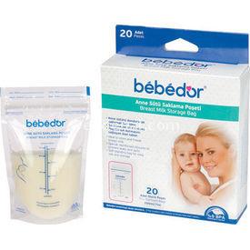 Bebedor 20li Süt Saklama Poşeti Göğüs Pompası / Pedi
