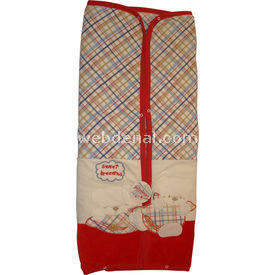 Bebelina 152 Kadife  Kırmızı Bebek Battaniyesi