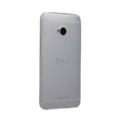 Microsonic Ultra Thin 0.2mm Kılıf Htc One M7 Beyaz