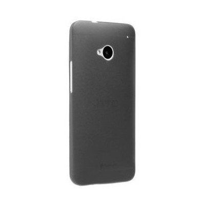 Microsonic Ultra Thin 0.2mm Kılıf Htc One M7 Siyah Cep Telefonu Kılıfı