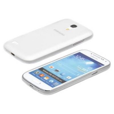Microsonic Ultra Thin 0.2mm Kılıf Samsung Galaxy S4 Mini I9190 Beyaz Cep Telefonu Kılıfı