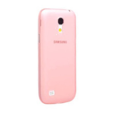 Microsonic Ultra Thin 0.2mm Kılıf Samsung Galaxy S4 Mini I9190 Kırmızı Cep Telefonu Kılıfı