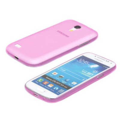 Microsonic Ultra Thin 0.2mm Kılıf Samsung Galaxy S4 Mini I9190 Pembe Cep Telefonu Kılıfı