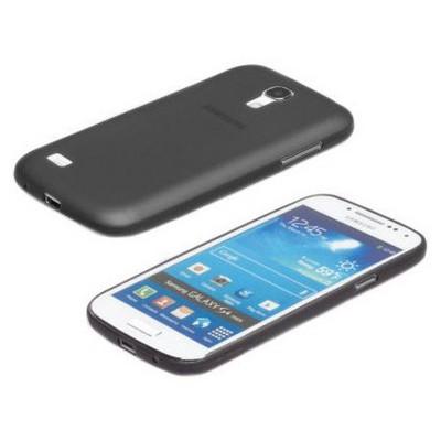 Microsonic Ultra Thin 0.2mm Kılıf Samsung Galaxy S4 Mini I9190 Siyah Cep Telefonu Kılıfı