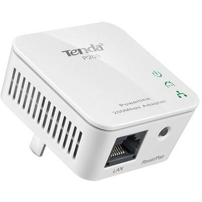 Tenda P200 Homeplug 1port Kablolu 200mbps Kit Anten / Ağ Adaptörü