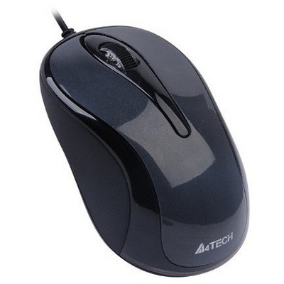 A4 Tech D-360-1 Kablolu Optik Mouse - Gri