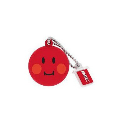 Emtec Sw102 8gb Usb Bellek Smiley Red USB Bellek