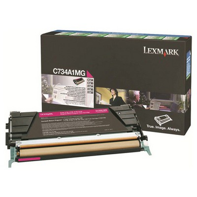 Lexmark C734A1MG Kırmızı Toner