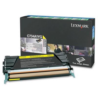 Lexmark C734A1YG Sarı Toner
