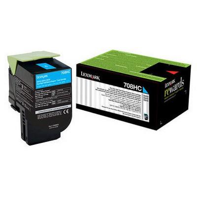 Lexmark 70C8HC0 Mavi Toner