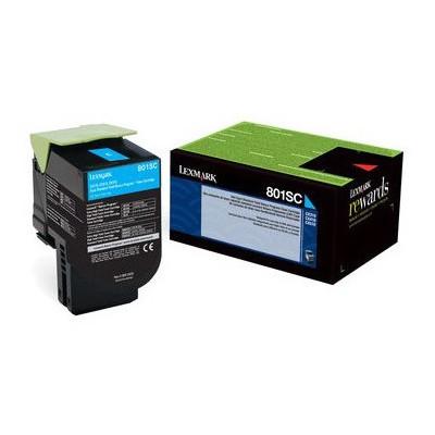 Lexmark 80C8SC0 Mavi Toner