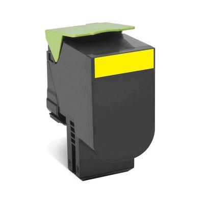 Lexmark 80C8SY0 Sarı Toner