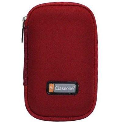 """Classone HD2001 2.5"""" Taşınabilir Disk Kılıfı - Kırmızı"""