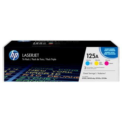 HP 125A CF373AM 3'lü Toner