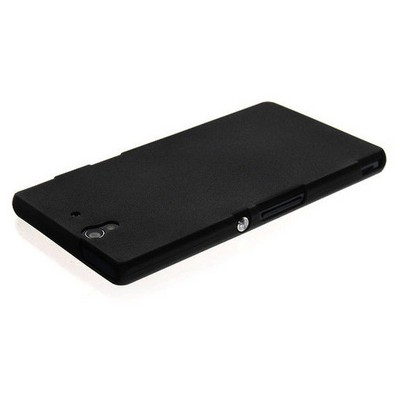 Microsonic Ultra Thin 0.2mm Kılıf Sony Xperia Z Siyah Cep Telefonu Kılıfı