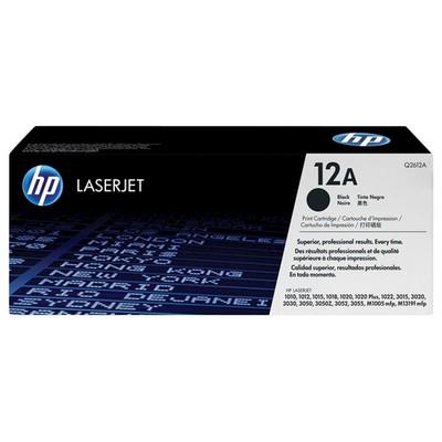 HP 12A Siyah Q2612A 2000 Sayfa Toner