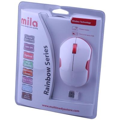 Classone ML370 Kablosuz Mouse - Beyaz-Kırmızı