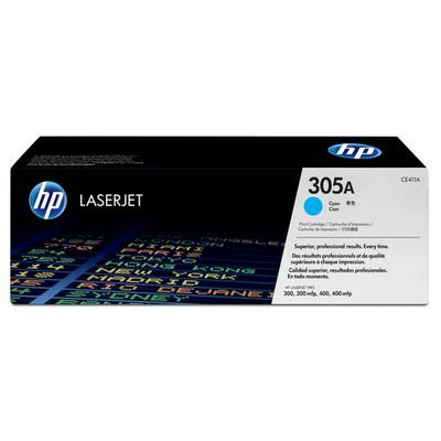 HP 305A CE411A Mavi Toner