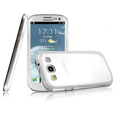 Microsonic Kristal Şeffaf Kılıf - Samsung Galaxy S3 I9300 Cep Telefonu Kılıfı