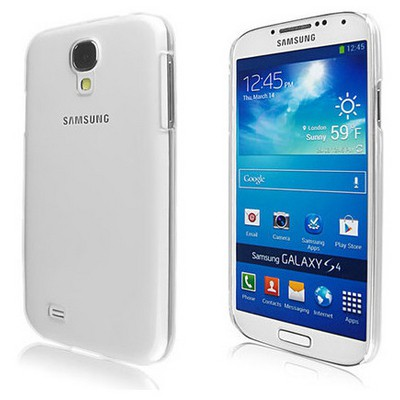 Microsonic Kristal Şeffaf Kılıf - Samsung Galaxy S4 I9500 Cep Telefonu Kılıfı