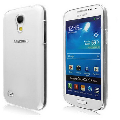 Microsonic Kristal Şeffaf Kılıf - Samsung Galaxy S4 Mini I9190 Cep Telefonu Kılıfı