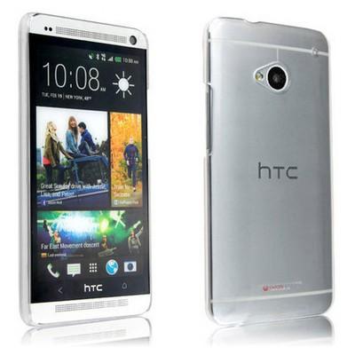 Microsonic Kristal Şeffaf Kılıf - Htc One M7 Cep Telefonu Kılıfı