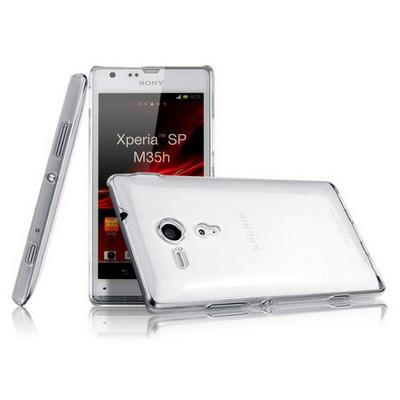 Microsonic Kristal Şeffaf Kılıf - Sony Xperia Sp M35h Cep Telefonu Kılıfı