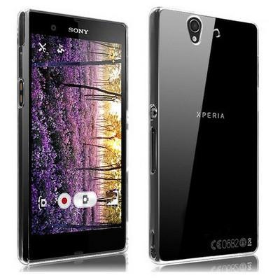 Microsonic Kristal Şeffaf Kılıf - Sony Xperia Z L36ı Cep Telefonu Kılıfı