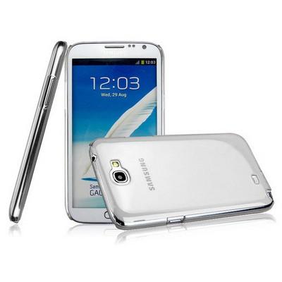 Microsonic Kristal Şeffaf Kılıf - Samsung Galaxy Note 2 N7100 Cep Telefonu Kılıfı