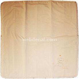 Bebetto B315 Penye Elyaflı Battaniye Bej Bebek Battaniyesi