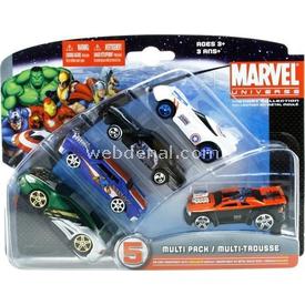 Maisto Marvel 5 Li Araba Seti 2 Arabalar