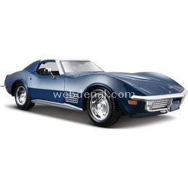 Maisto Chevrolet Corvette 1970 1:24 Model Araba S/e Mavi Arabalar