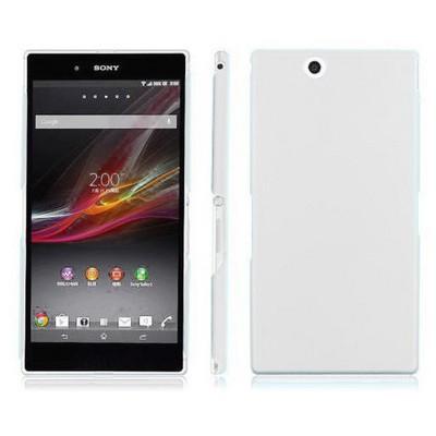 Microsonic Rubber Kılıf Sony Xperia Z Ultra 6.4 Beyaz Cep Telefonu Kılıfı