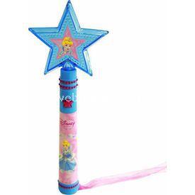 Necotoys Disney Prenses Cinderella Işıklı Asa Minik Hediyelikler